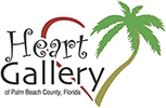 Heart Gallery of Palm Beach County, Florida Logo