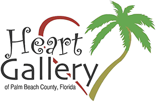 Heart Gallery of Palm Beach County, Florida Retina Logo